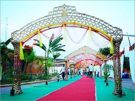 Mandap Decoration Nets