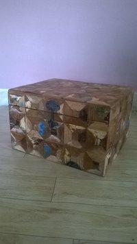 Designer Wooden Trunk