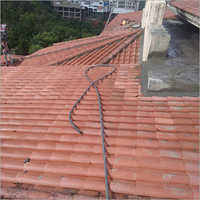 Roofing clay Tile installation