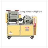 Scrap Rebar Straightener