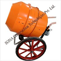 Lab Testing Concrete Mixer