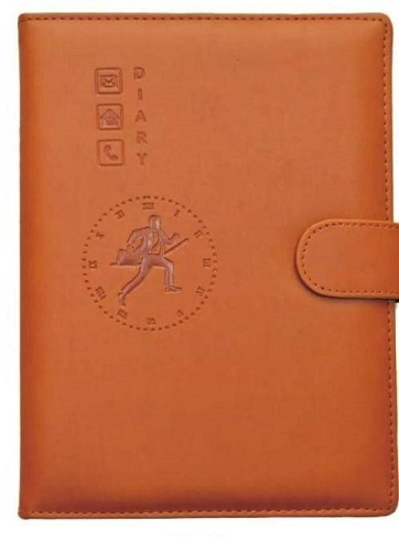 Leather Diary In Genuine Leather