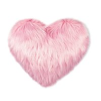 Sublimation Cushion Heart-Fur