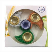 Tri Colour Fidget Spinner