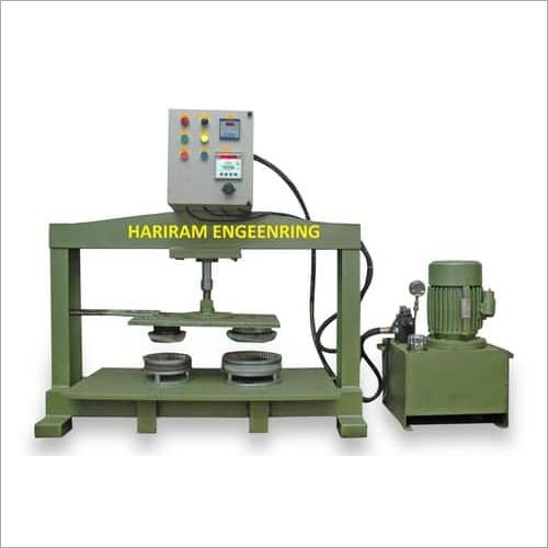 Semi Auto Hydrolic Paper Plate Machine