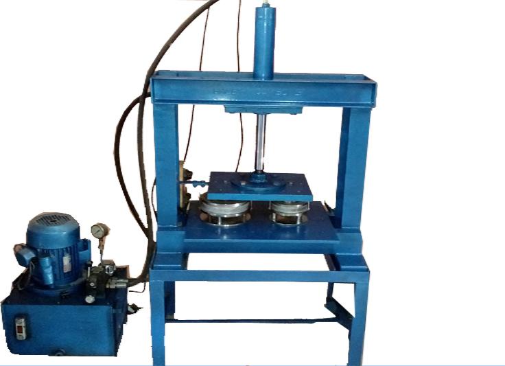 Semi Auto Paper Plate Making Machine