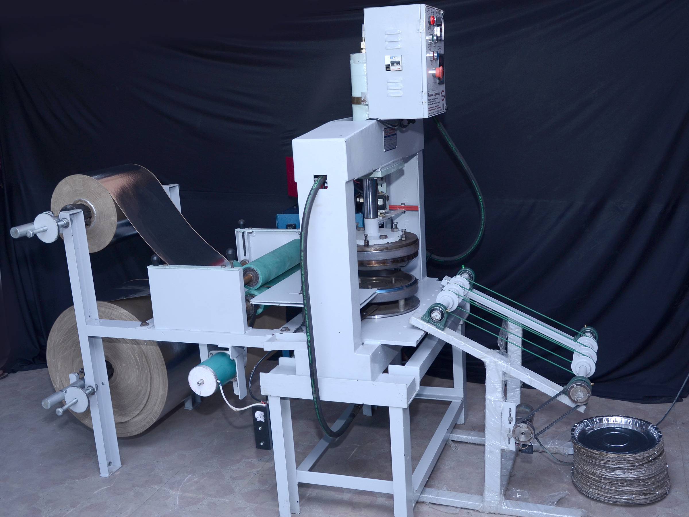Fully Auto Thali Making Machine - Vertical Hydraulic