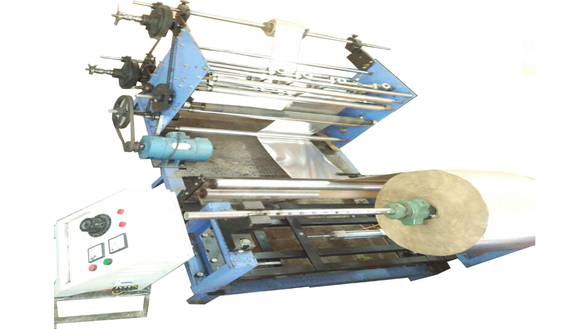 Zig Zag Auto Hydraulic Paper Plate Machine