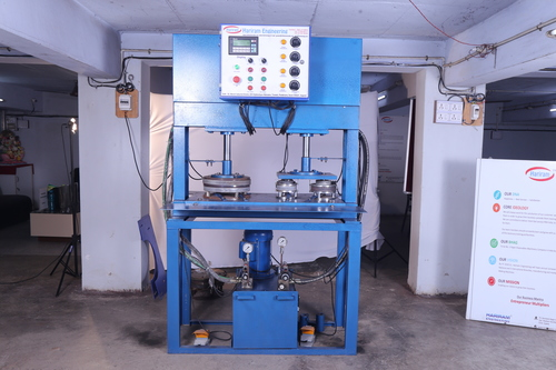 Zig Zag Hydraulic Paper Plate Making Machine
