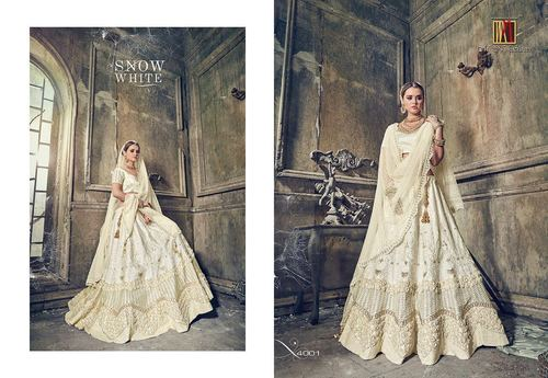 Heavy Bridal Designer Lahenga Saree