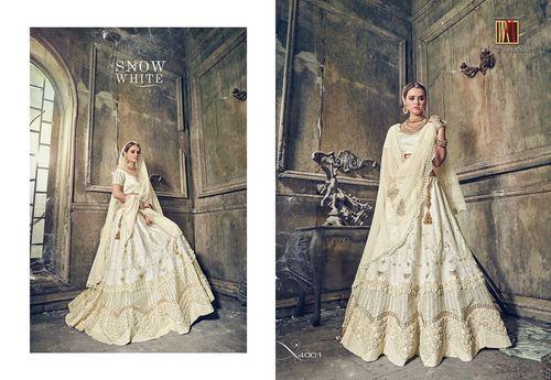 Heavy Bridal Designer Lahenga Saree