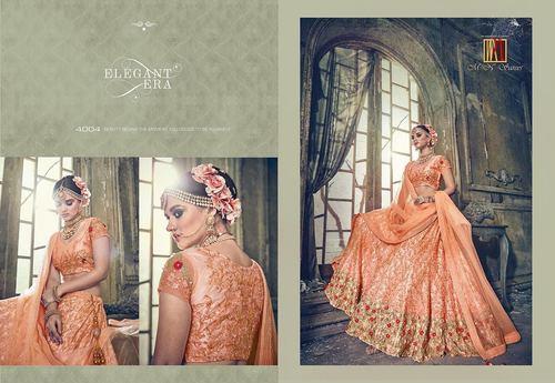 Indian Designer Heavy Party Wear Lahenga Saree