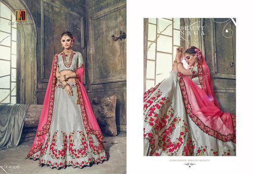 Indian Heavy Bridal Lahenga Saree