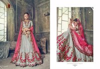 Indian Heavy Bridal Lahenga Saree