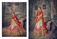 Indian Heavy Bridal Designer Lahenga Saree