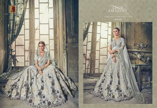 Heavy Designer Lahenga Style Saree