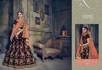 Heavy Party Wear Lahenga Style Saree