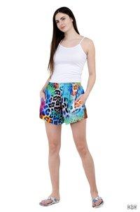 Digital Printed Women Cotton Shorts