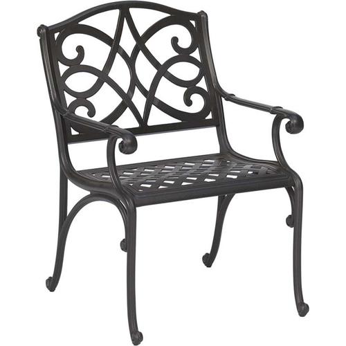 Grey Iron Garden Chair