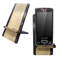 Engraving Mobile Stand-Wooden