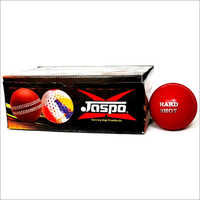 Jaspo Hardshot Cricket Ball