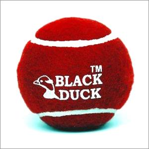 Black Duck Cricket Tennis Ball Heavy
