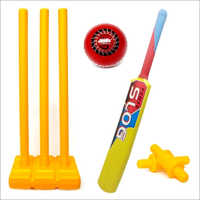 Jaspo Playway Plastic Cricket Set