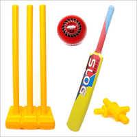 Jaspo Playway Plastic Cricket Set (Size 5)