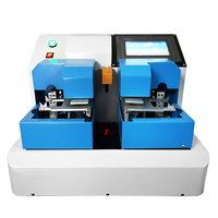 Touch screen cardboard bending tester