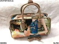 Imported Printed Handbag