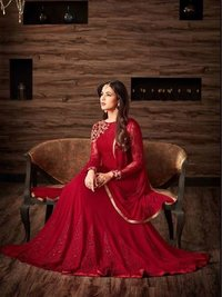 GEORGETTE FABRIC WORK SUITS FOR PARTY WEAR