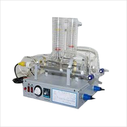 Double Distillation Apparatus All Glass  (Electrically Heated)