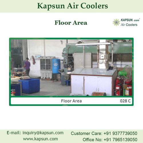 Industrial Commercial Air Cooler used for Floor Area......