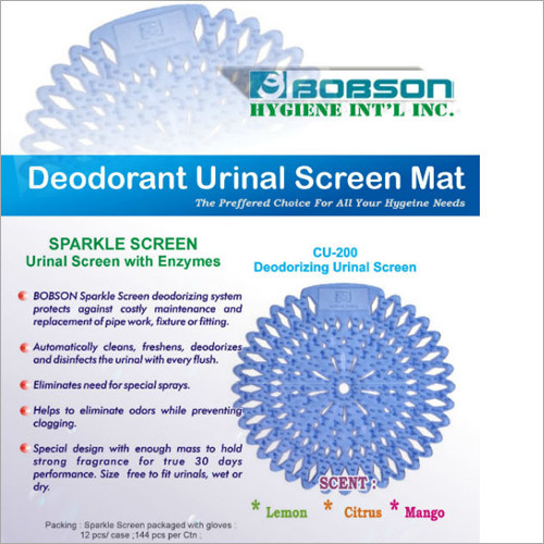 Deodorant Urinal Screen Mat