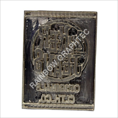 Designer Jeans Labels Metal Die