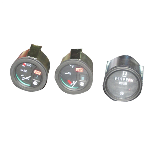 Hydra Crane Hour Meter and Oil Pressure Meter