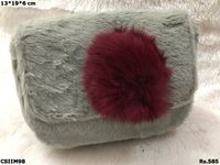 Beautiful Fur Imported Sling Bag