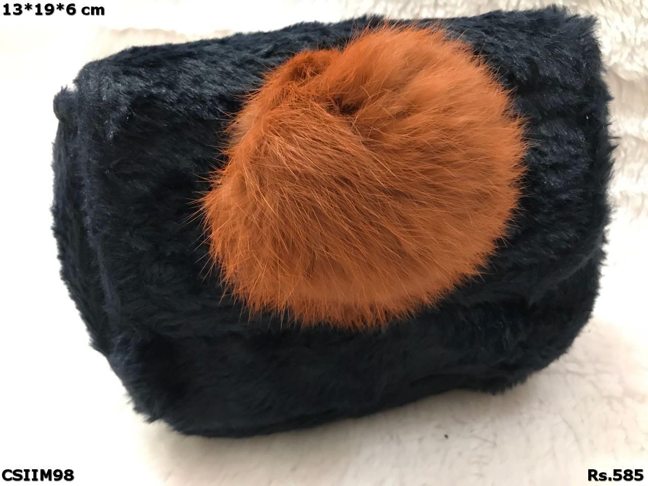 Beautiful Fur Imported Sling Bag