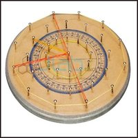 Geo Board-Circle (Wooden)