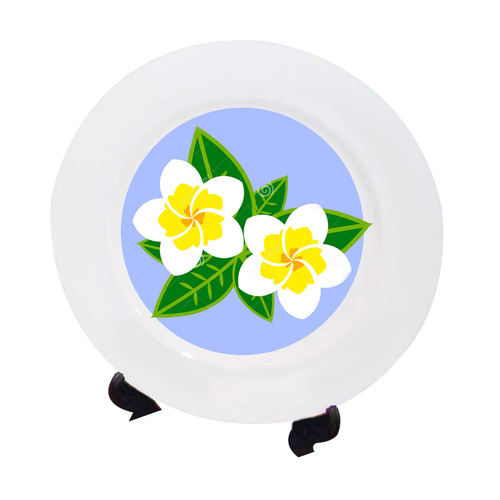 Sublimation Ceramic Plate - Plain