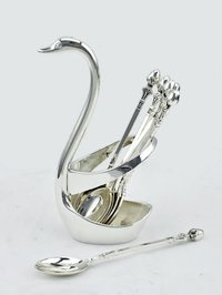 Silver Spoon Holder