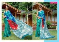 Indian Designer Casual Printed Saree
