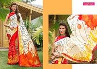 Indian Designer Casual Digital Printed Saree