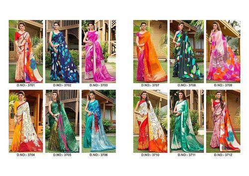 Varsiddhi Lunching New Designer Printed Saree