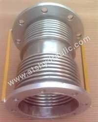 Double Axial Bellow With Flange