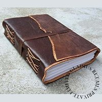 Executive Leather Bount Journal