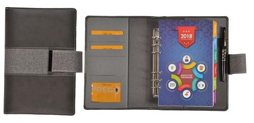 Executive Leather Bountd Notebook