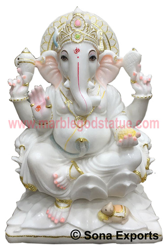 Buy Online Cheap Marble Ganesh Statue