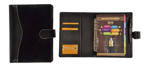Professional Leather Diary Refillable Leather Jour