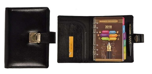 Personalized Executive Leather Diary